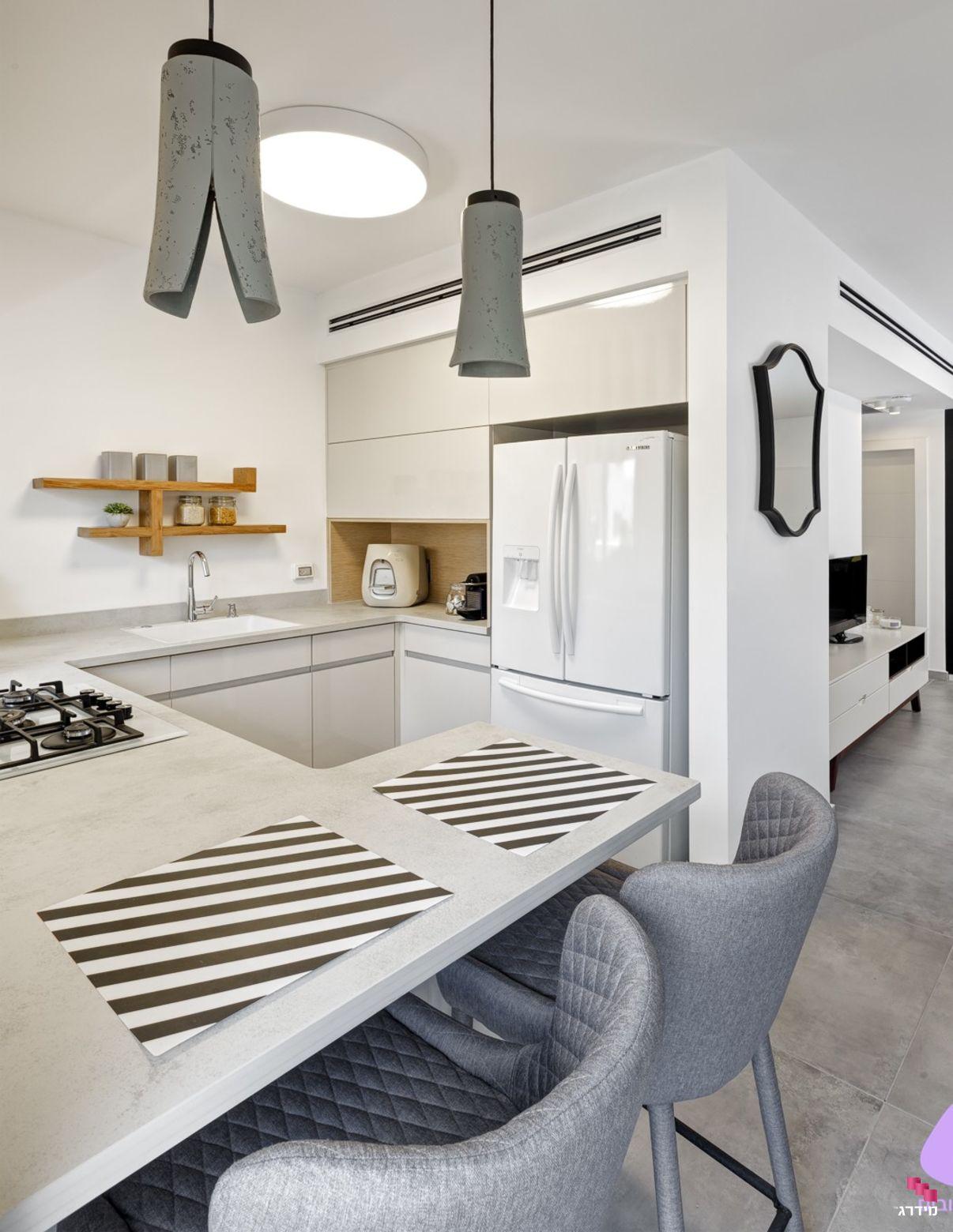 עיצוב מטבח בדירה קטנה