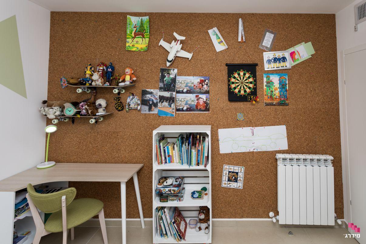 עיצוב דירת קבלן חדר לילדים