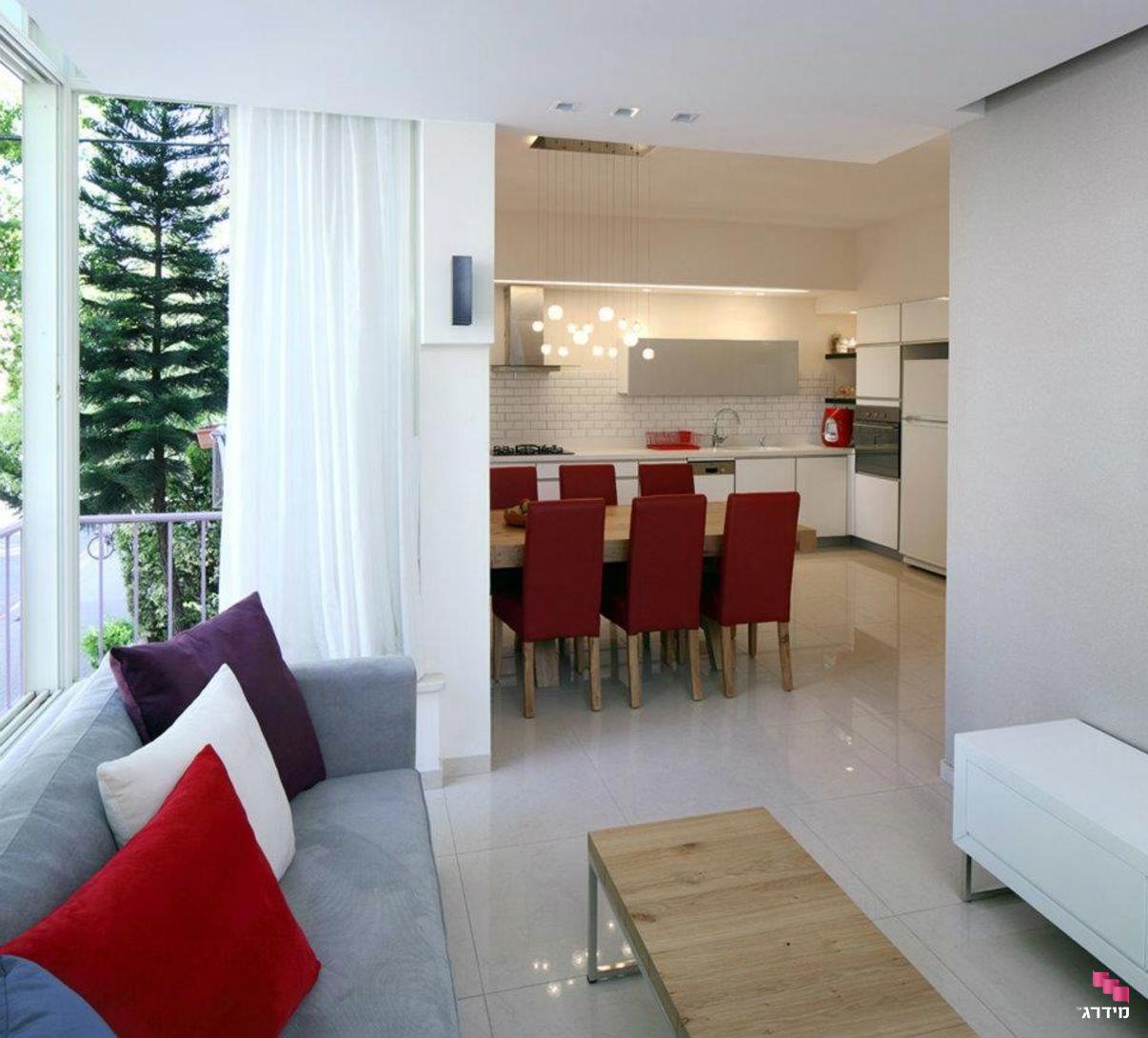 עיצוב סלון בדירה קטנה