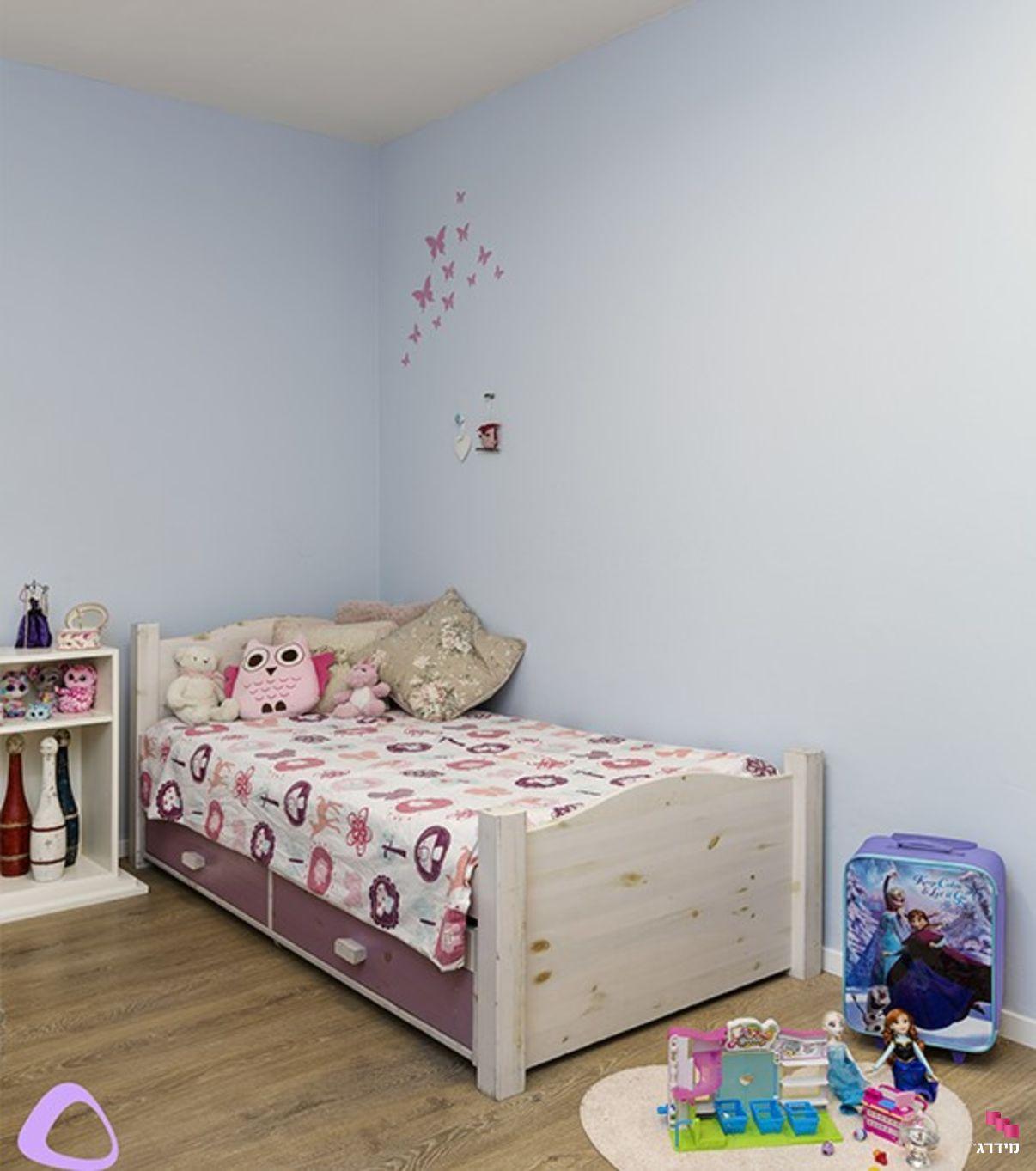 עיצוב דירת קבלן חדר ילדות