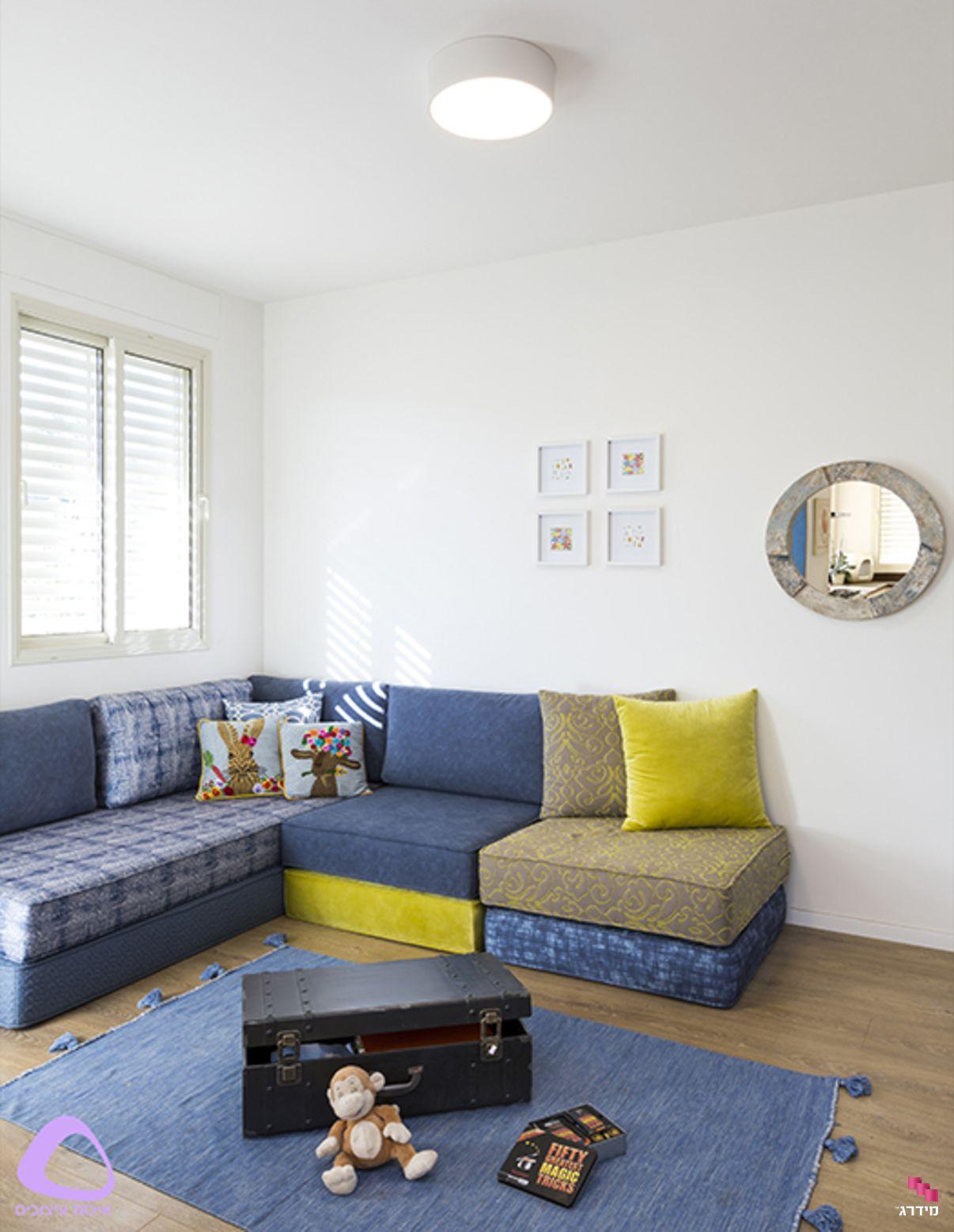 עיצוב דירת קבלן חדר משפחה