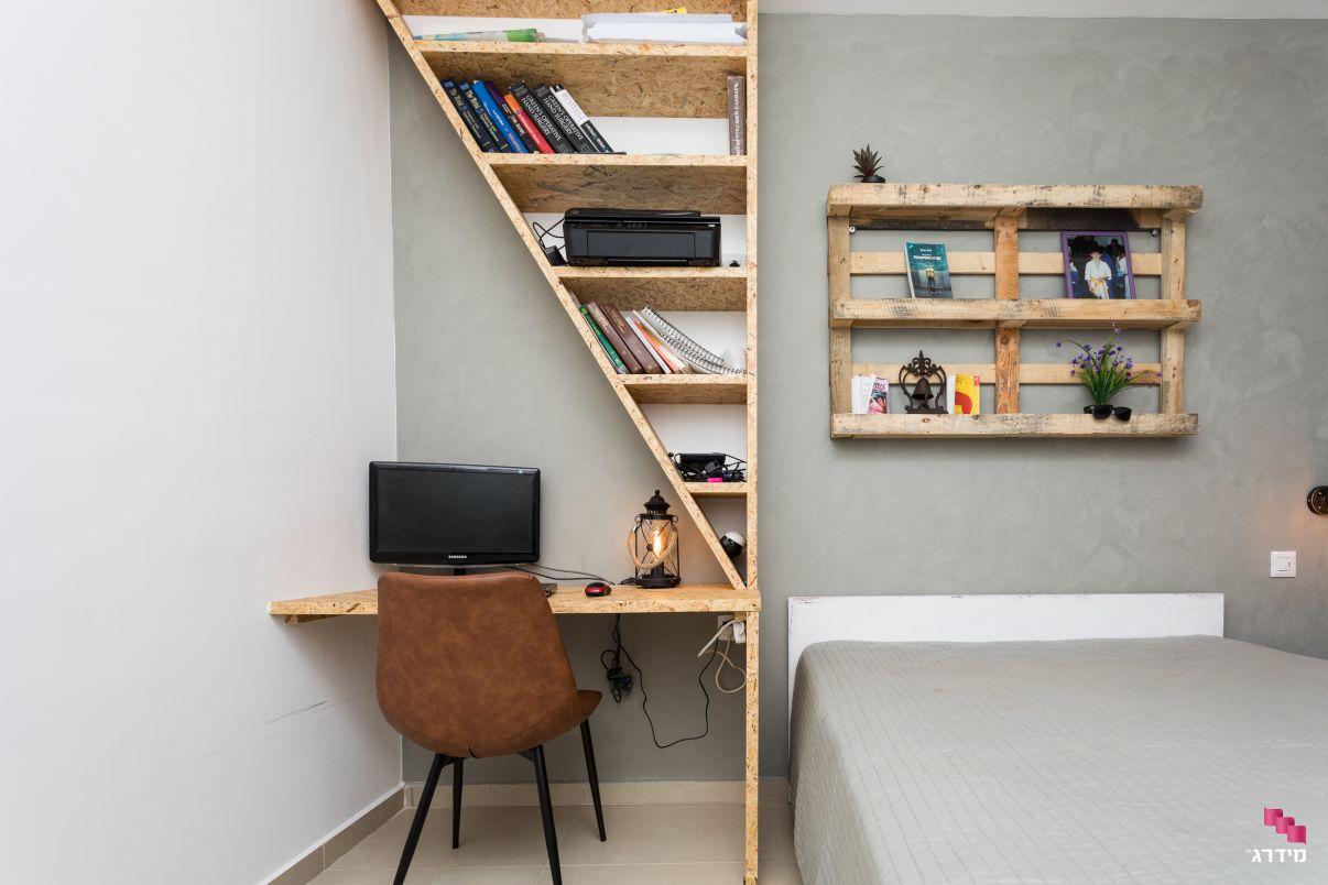עיצוב חדר דירת קבלן
