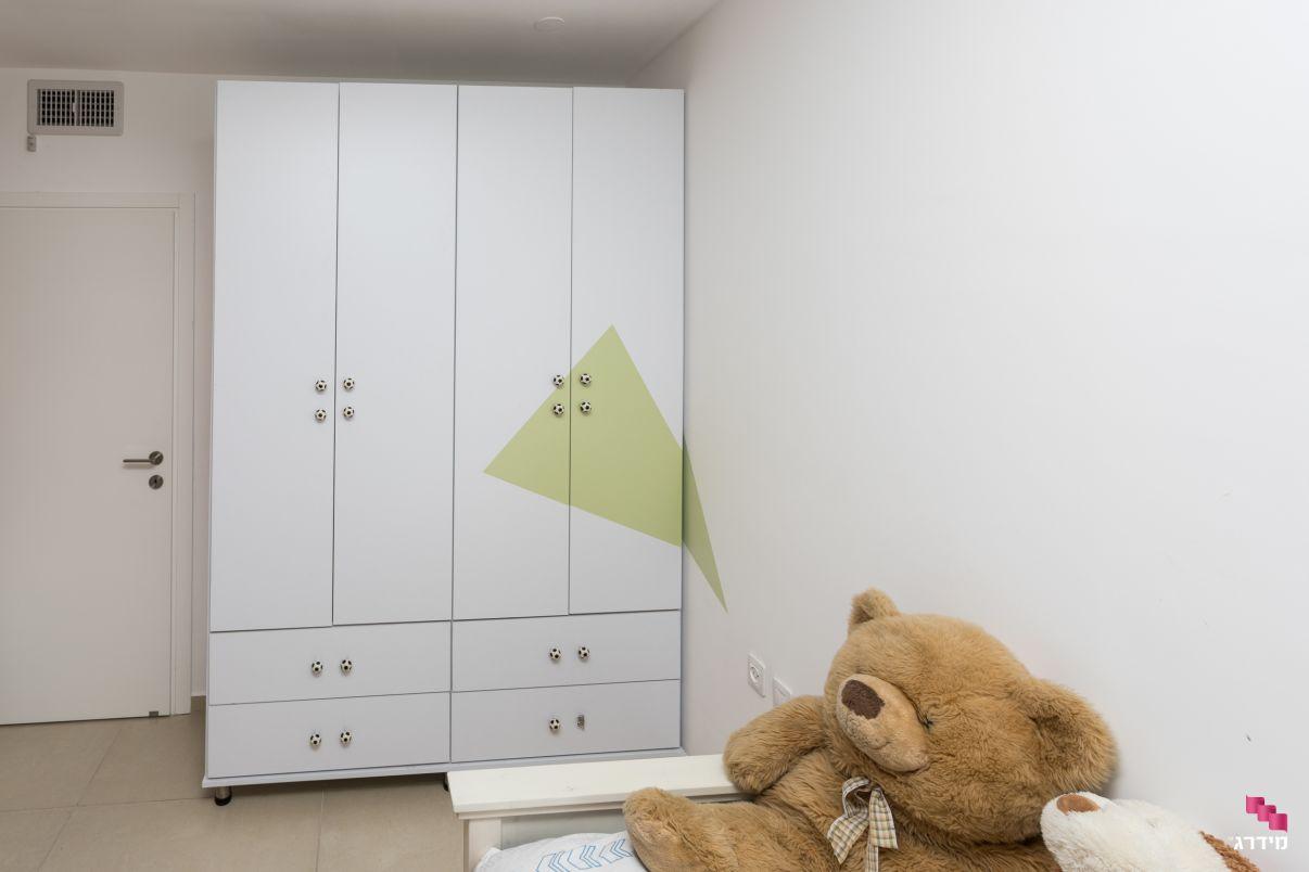 עיצוב חדר ילדים בדירה חדשה מקבלן