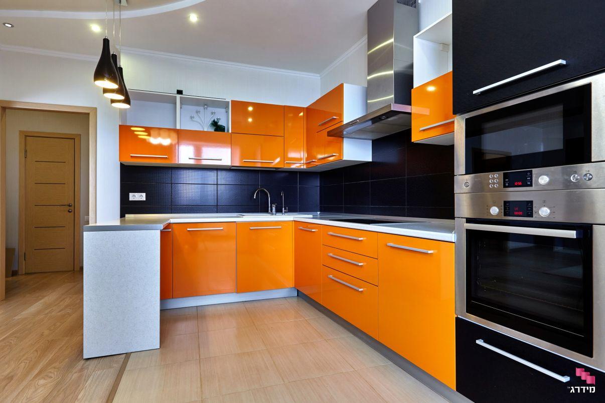 קלפה למטבח צבע בתנור