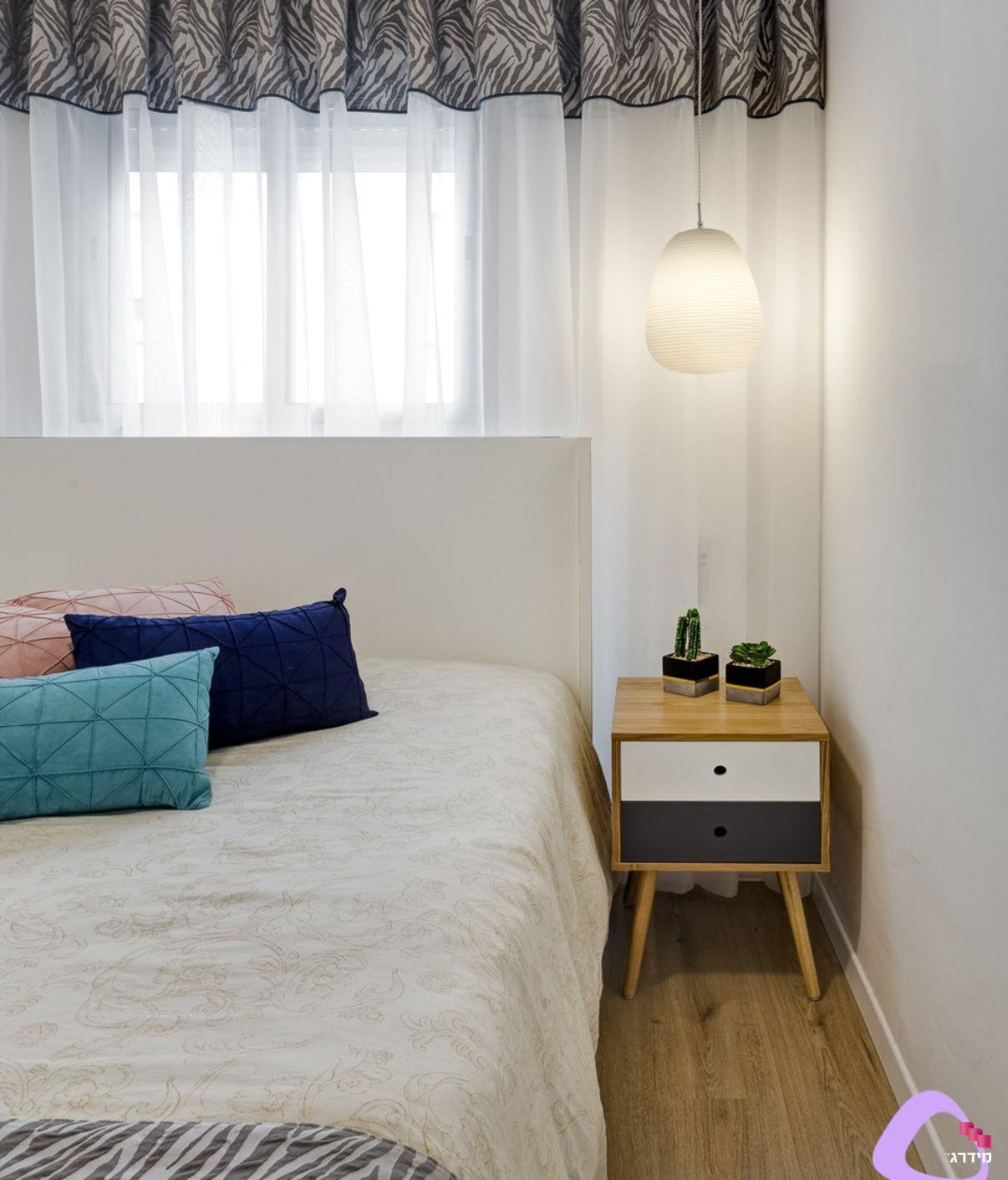 עיצוב דירה קטנה חדר שינה