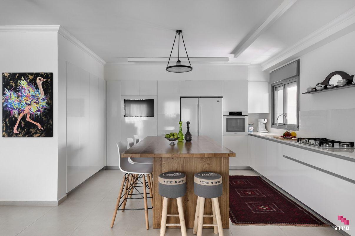 עיצוב מטבח בדירה חדשה