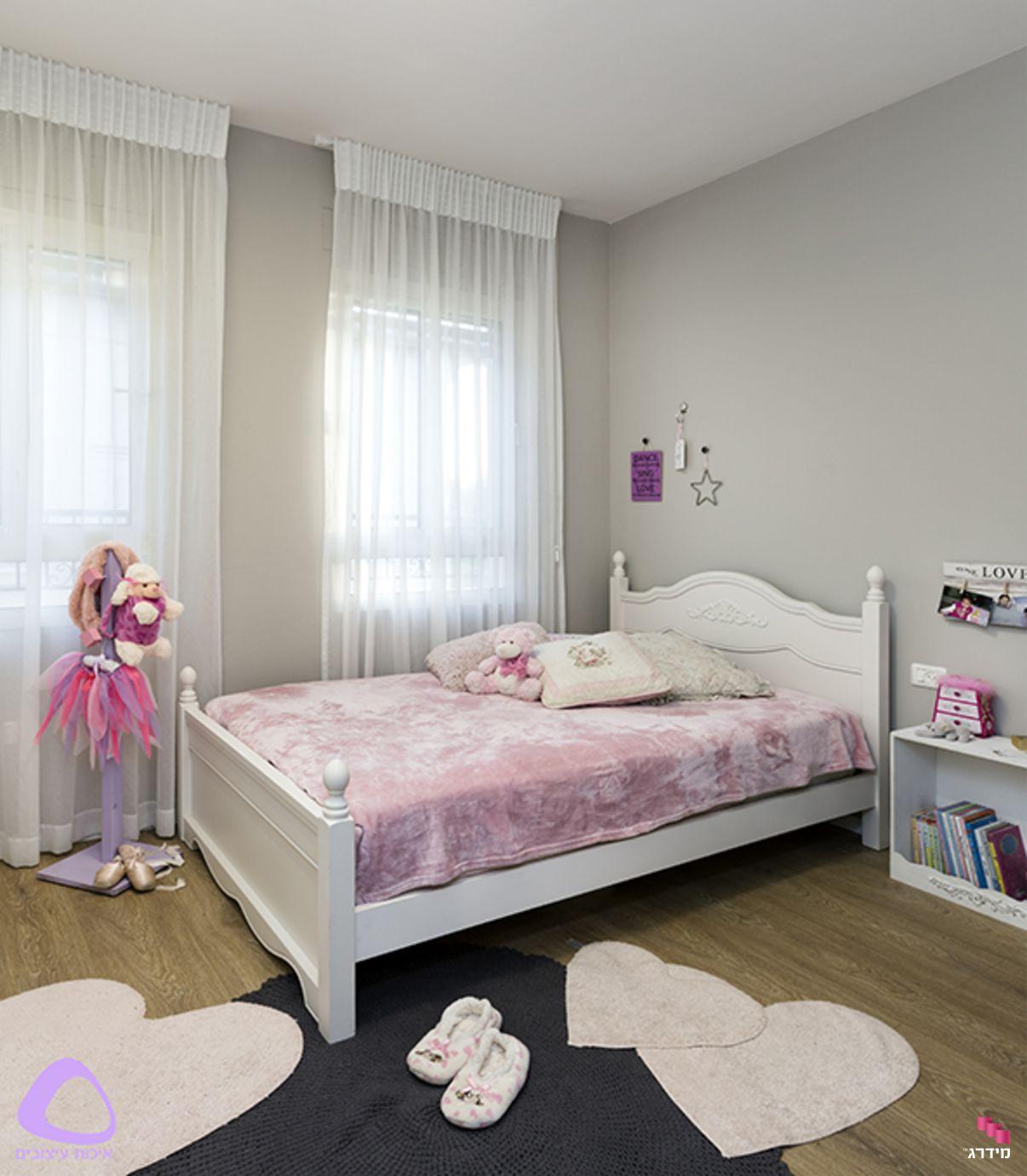 עיצוב דירת קבלן חדר נערות