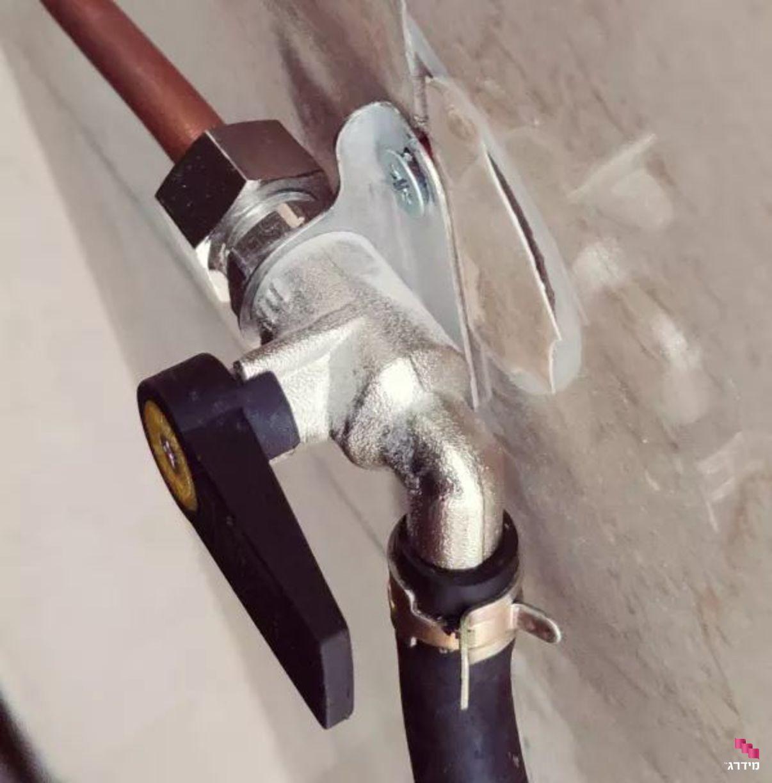 התקנת נקודת גז | ברז גז