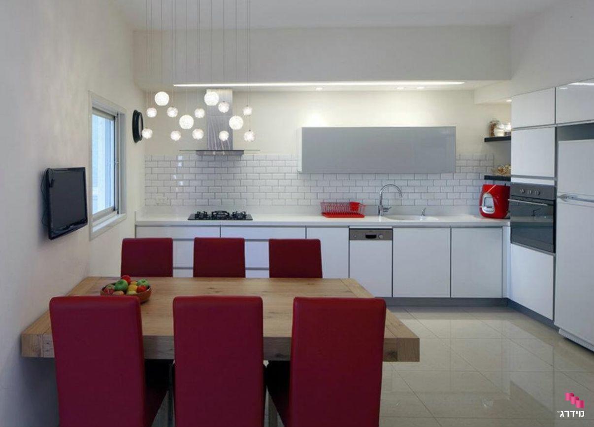 עיצוב דירה קטנה פינת אוכל