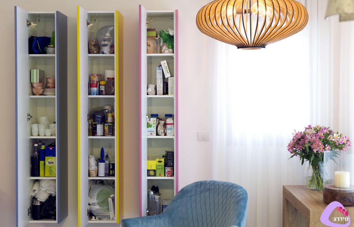 עיצוב דירה קטנה דוגמא
