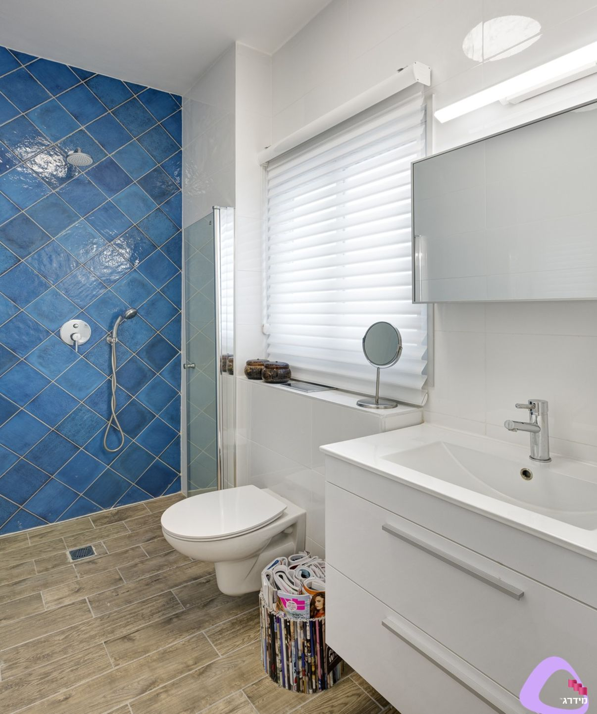 עיצוב אמבטיה דירה קטנה