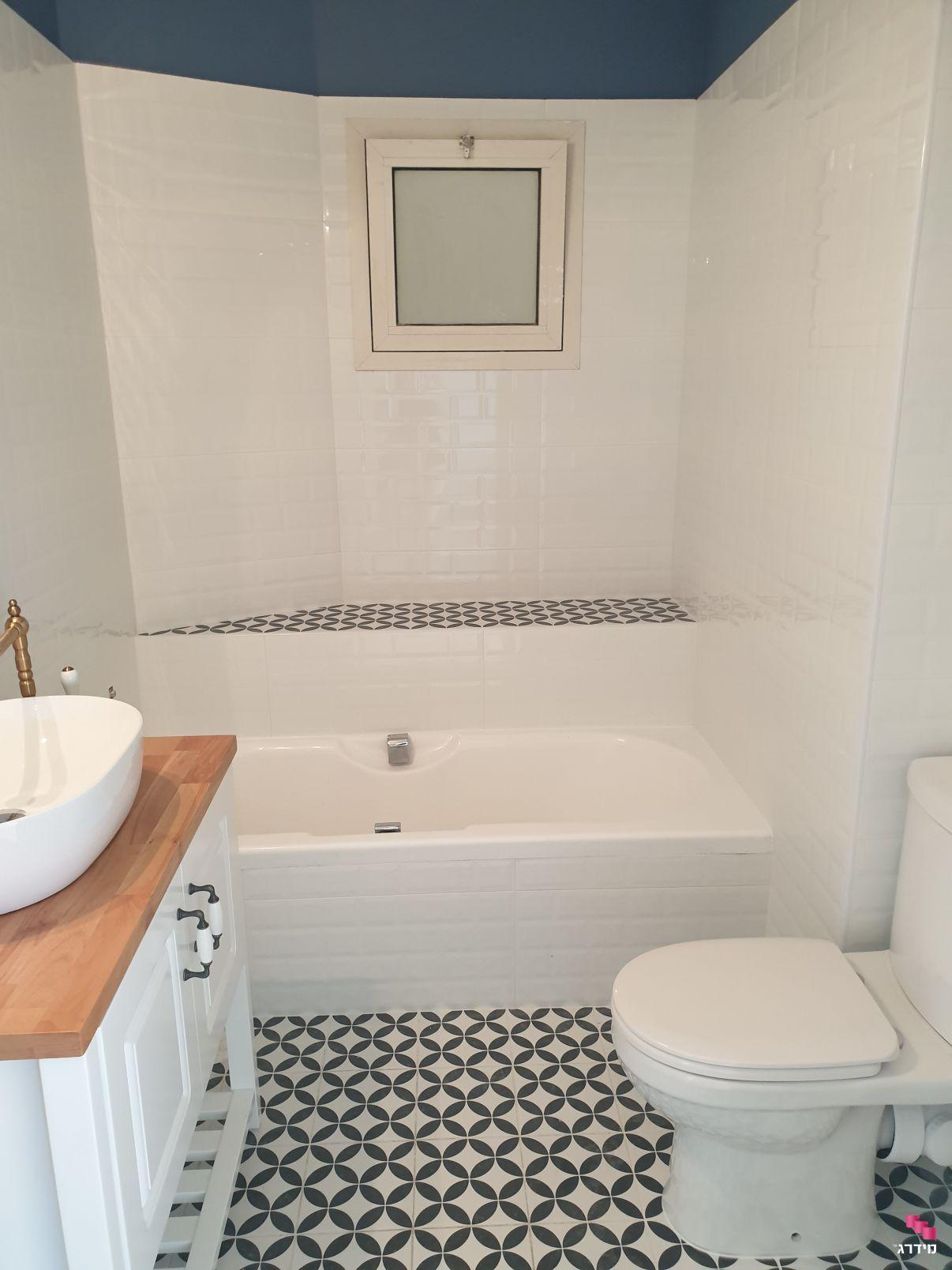עלות שיפוץ דירת 70 מטר | אמבטיה משופצת