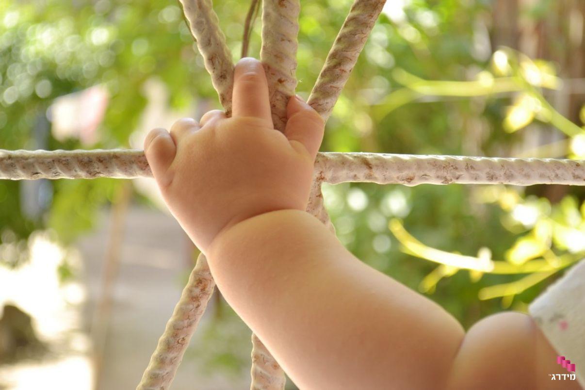 סורג בטיחות למניעת נפילות ילדים