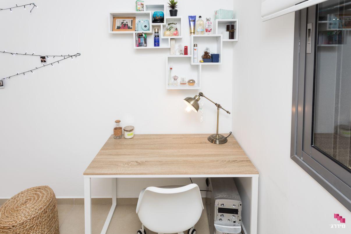עיצוב חדר מתבגרים דירת קבלן
