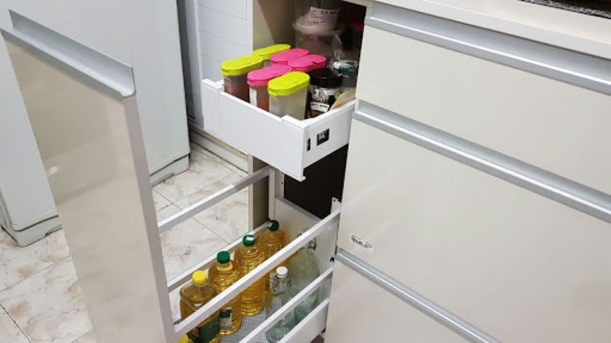עיצוב מטבח אחסון