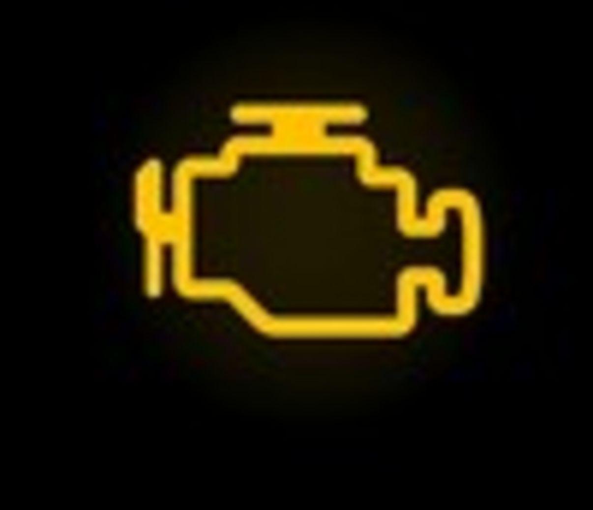נורת אזהרה ברכב מנוע