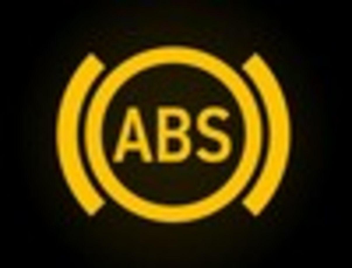 נורות אזהרה ברכב  ABS