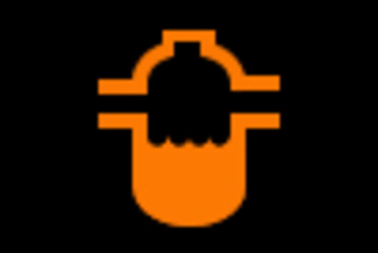 נורות אזהרה ברכב מסנן דלק