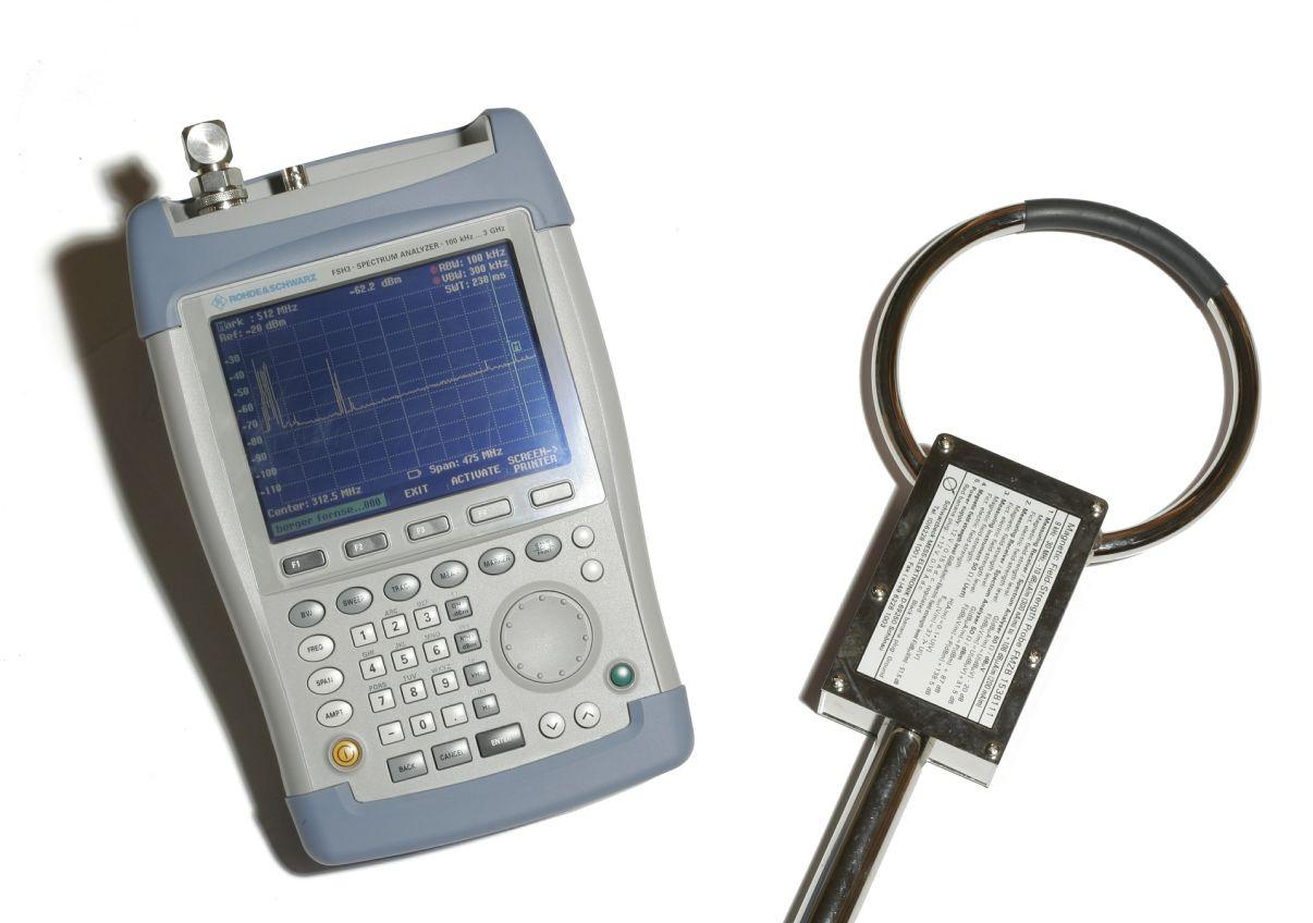 מכשיר למדידת קרינה