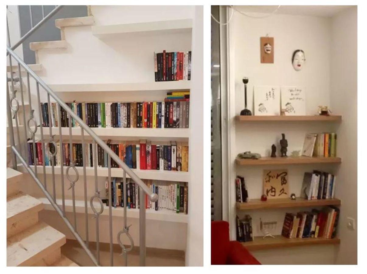 נגרות בהתאמה אישית | ספריות מדפים בגומחות