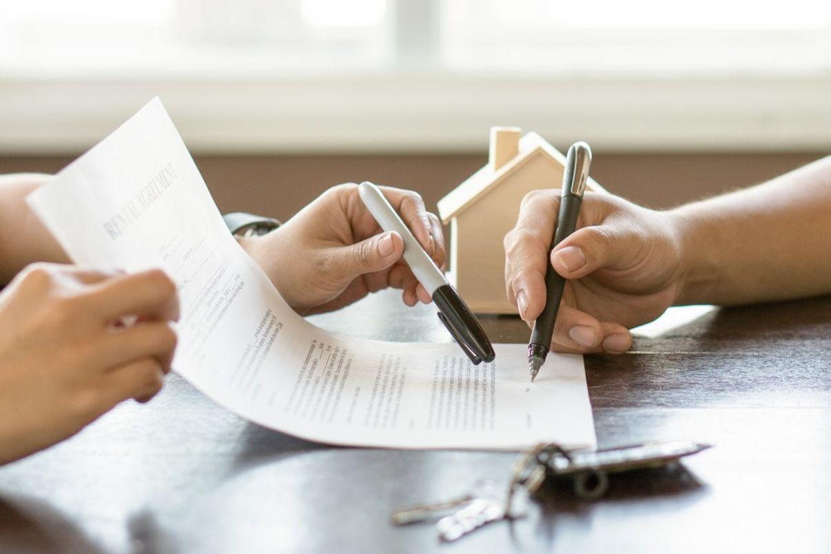 חתימה על חוזה דירה | עורך דין לקניית דירה
