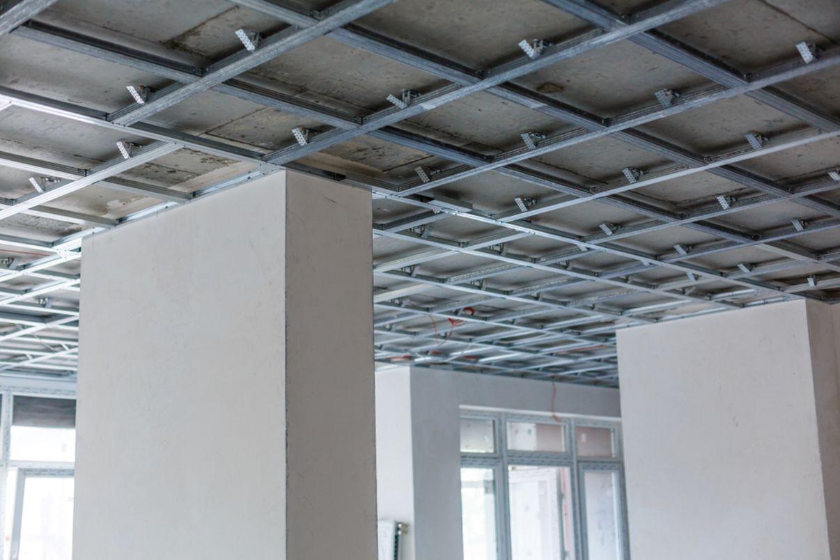 תשתית תקרה | הנמכת תקרה - מידרג