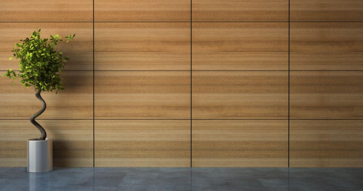 חיפוי עץ לקיר