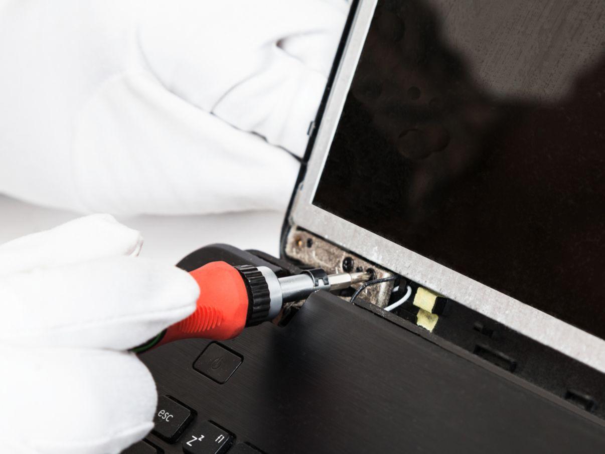 תיקון מסך מחשב נייד