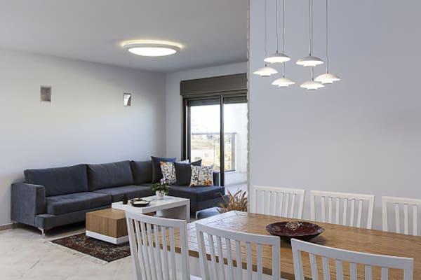 עיצוב דירה ריקה מההתחלה ועד הסוף