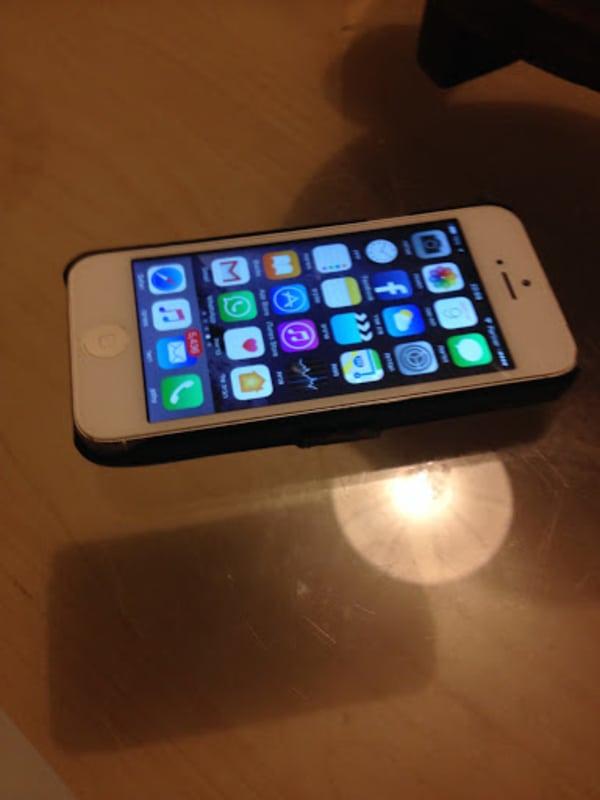 האייפון לאחר התיקון