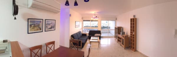 בתום העבודה - דירת 3 חדרים עם צבע חדש