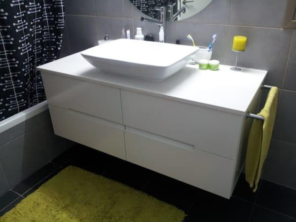 בנייה אישית מנגר - ארונות לאמבטיה