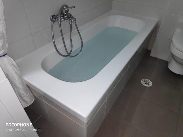 למרות שהאמבטיה היתה בסדר, לאחר ההלבשה נראתה עוד יותר מפוארת