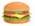המבורגר על הגריל