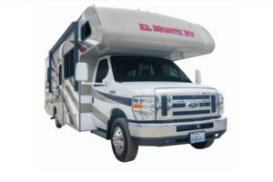Cabover C28 RV One way rental