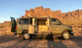 Stevie | Boho Camper Vans