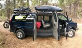 Ramblin' Vans- Fully stocked Chevy Express Camper Van