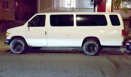 2001 Ford E350 Adventure Van with Offroad Tires