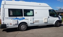 2 Berth Self Contained Campervan, With Tow Bar