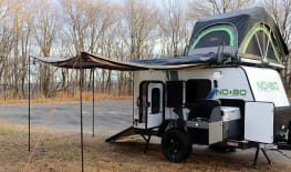 Recreation Insanity--Be the Envy of the Campground--Loaded--2019 Forest River No Boundaries 10.6- Easy Tow
