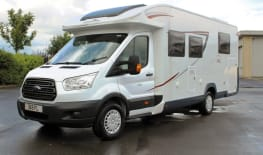 New Ford sleeps 5. Discover NZ Post Lockdown Ready