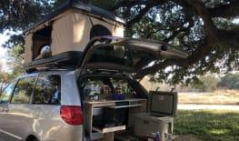 Gas Saving Minivan Camper Conversion!