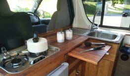 Handmade Hardwood Camper (Hamilton)