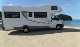 2017 Fiat Luxury Motorhome Discover NZ Post Lock down ready