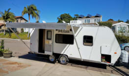 Light Easy Tow 2013 22' Eclipse Travel Trailer