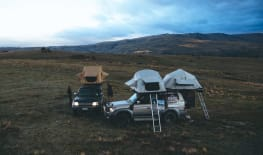 Land Cruiser Rooftop Double Tent