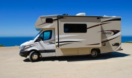 2018 Mercedes - Benz RV2 Turbo Diesel engine 19 MPG with a dining room Slide Out!