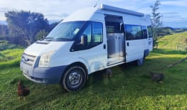 The great white Motorhome