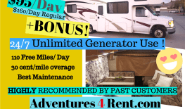 SALE!! / 110 FREE miles /day UNLIMITED generator use! , Amazing value , beginner Friendly! FOREST RIVER Chateau Sport- sleeps 6-8 - ICE COLD AC, Fun for the family! 001