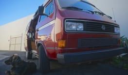 Tahoe 1987 VW Vanagon AdventureWagen camper van